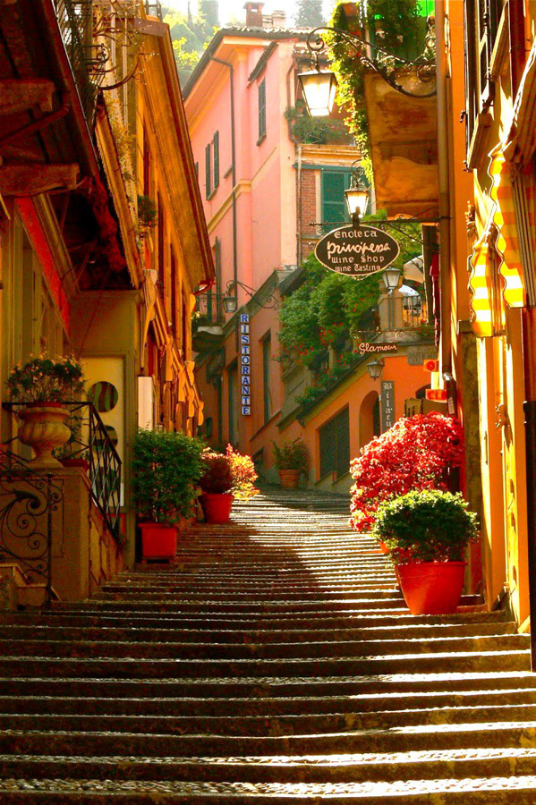 NORTHERN LAKES OF ITALY, PART 5 � MORE COBBLESTONE STEPS, DAZZLING ...
